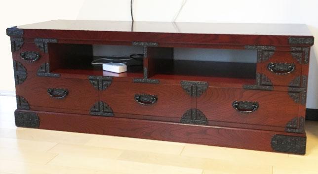 オーダー家具の完成見本